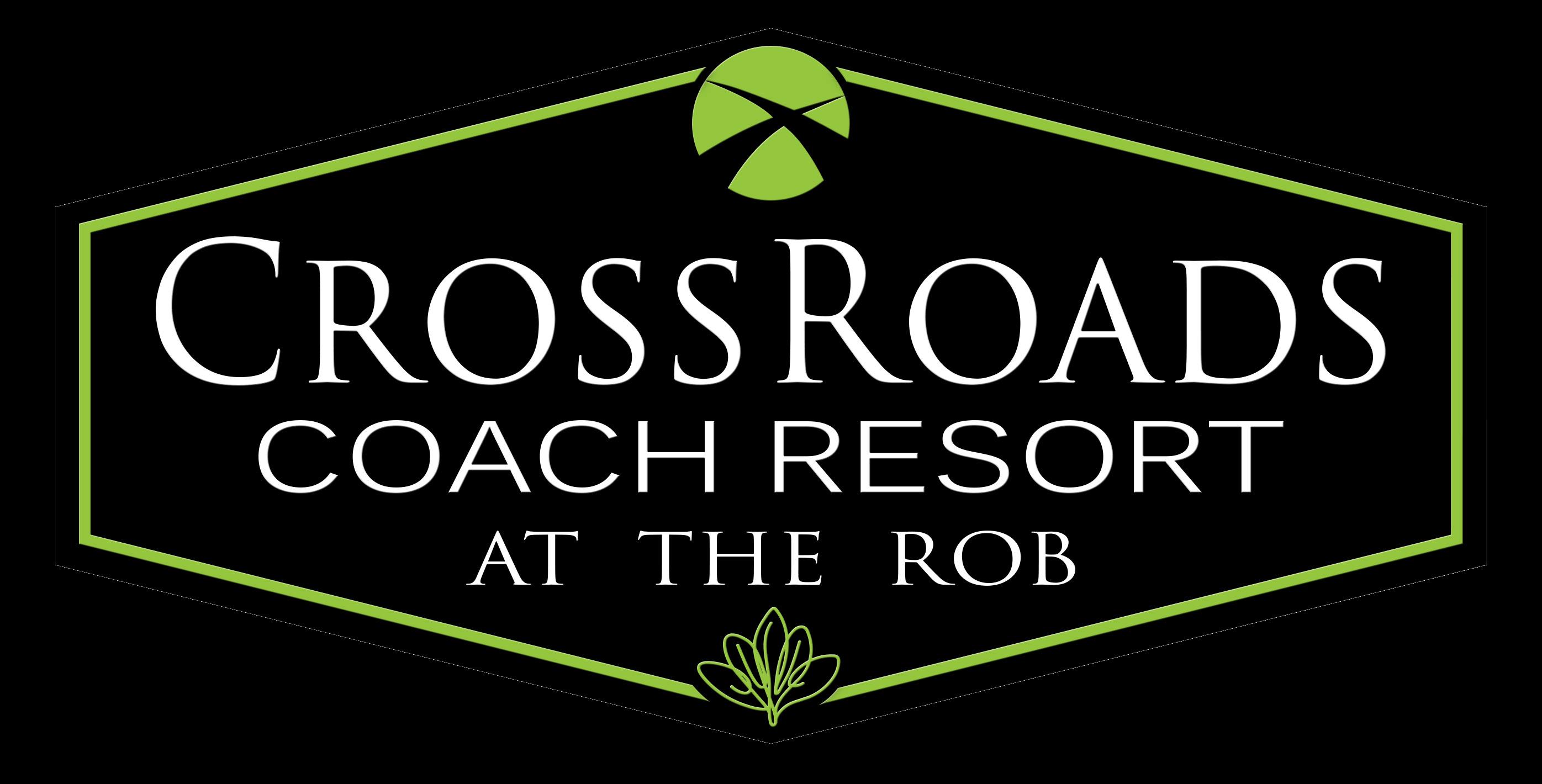 CrossRoads Coach Park logo